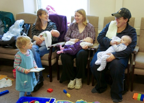 Mums and Babies Group 2011