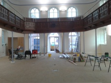 During Refurb Oct 2011 12