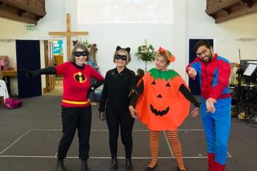Pumpkin Heroes Party 1256